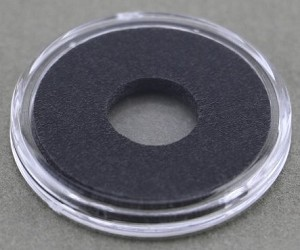Air-Tite Coin Holder 10 mm - Black Ring