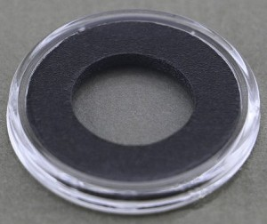 Air-Tite Coin Holder 15 mm - Black Ring