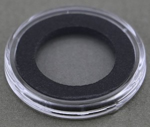 Air-Tite Coin Holder 18 mm - Black Ring