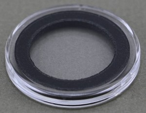 Air-Tite Coin Holder 23 mm - Black Ring