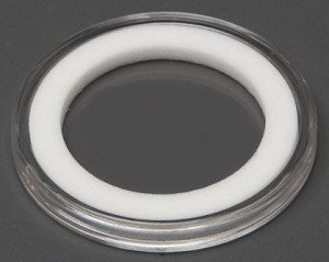Air-Tite Coin Holder 30 mm - White Ring