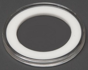 Air-Tite Coin Holder 34 mm - White Ring