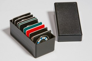 Air-Tite Display Card Storage Box