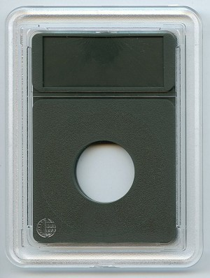 Coin World Premier Coin Holder-U.S. Draped Bust, Capped Bust Dimes - 18.8MM - Green (Premier Insert)