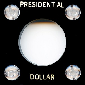 "Capital Plastic #144 Coin Holder ""Presidential Dollar"" - Black"