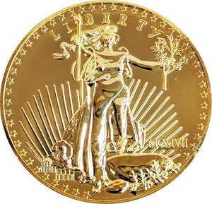 Giant 1907 $20.00 Gold