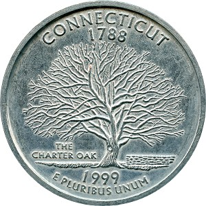 Giant 1999 Connecticut Quarter