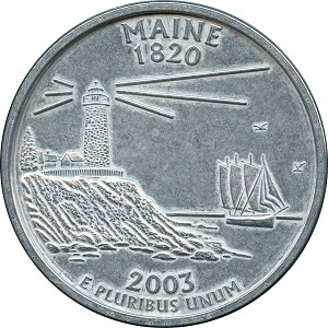 Giant 2003 Maine Quarter