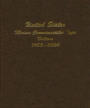 Dansco Album 7062-1: Modern Commemorative Type Dollars 1983 - 2004