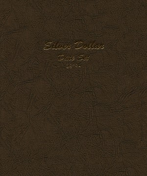 Dansco Album 7172: Silver Dollar Coin Album 1878-1981 Date Set