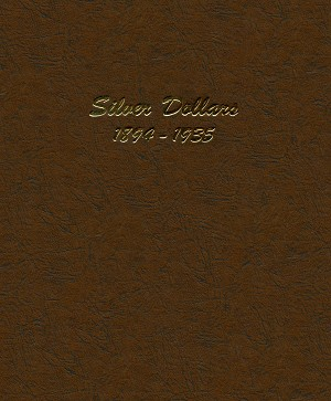 Dansco Album 7174: Silver Dollar Coin Album 1894-1935