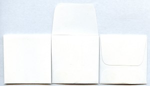 "2"" x 2"" Coin Envelopes - White - 250 Pack"