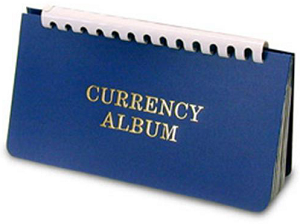 Harris (small) Wallet Size Currency Album
