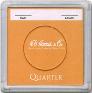 "Harris 2"" x 2"" Display Case - Quarter"