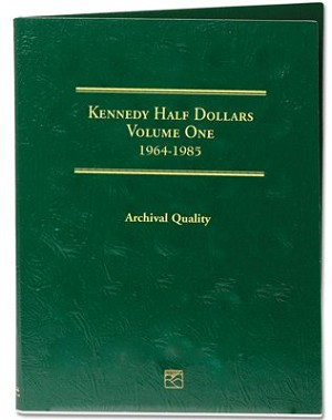 Littleton Kennedy Half Dollar Folder Vol. 1 1964-1985 - LCF7