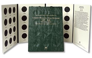 Littleton Walking Half Dollar Folder Vol. 1 1916-1936 - LCF11