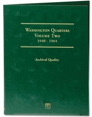 Littleton Washington Quarter Folder Vol. 2 1948-1964 - LCF13