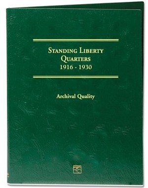 Littleton Standing Quarter Folder 1916-1930 - LCF16