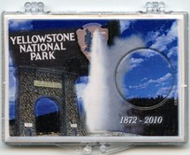 "Marcus 2"" x 3"" Snap Lock Holder 2010 Yellowstone National Park Quarter - Without Coin"
