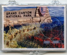 "Marcus 2"" x 3"" Snap Lock Holder 2010 Grand Canyon National Park Quarter - Without Coin"