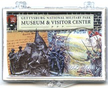 "Marcus 2"" x 3"" Snap Lock Holder 2011 Gettysburg National Military Park Quarter - Without Coin"