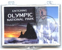 "Marcus 2"" x 3"" Snap Lock Holder 2011 Olympic National Park Quarter - Without Coin"