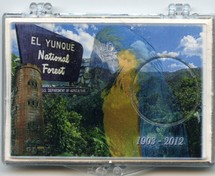 "Marcus 2"" x 3"" Snap Lock Holder 2012 El Yunque National Forest - Without Coin"