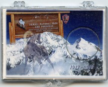 "Marcus 2"" x 3"" Snap Lock Holder 2012 Denali National Park and Preserve - Without Coin"