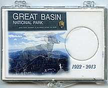 "Marcus 2"" x 3"" Snap Lock Holder 2013 Great Basin National Park Quarter - Without Coin"
