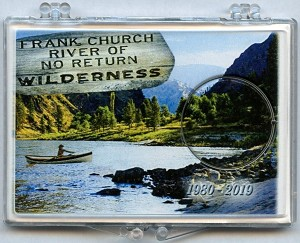 "Marcus 2"" x 3"" Snap Lock Holder 2019 Frank Church River of No Return Wilderness - Idaho - Without Coin"