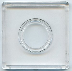 "Marcus 2"" x 2"" Snap-Tite Coin Holder - Cent"