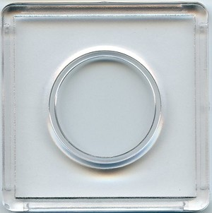 "Marcus 2"" x 2"" Snap-Tite Coin Holder - Quarter"