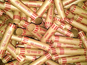 Cartridge Coin Wrappers - CENT - 50c - 100 Count