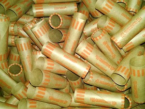 Cartridge Coin Wrappers - QUARTER - $10.00 - 100 Count