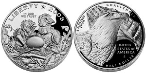 2008-S Bald Eagle Clad Half-Dollar Proof