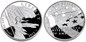 2012-P Star-Spangled Banner Silver Dollar Proof