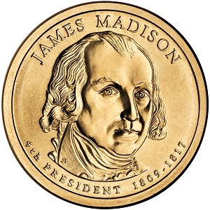 2007-P James Madison Dollar Uncirculated