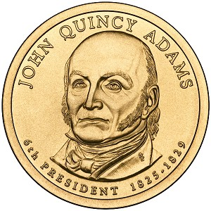 2008-P John Quincy Adams Dollar Uncirculated