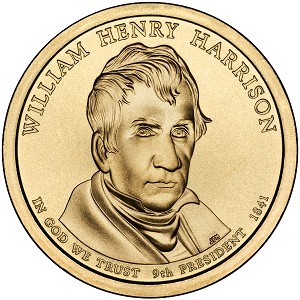 2009-D William Henry Harrison Dollar Uncirculated