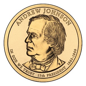 2011-P Andrew Johnson Dollar Uncirculated
