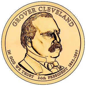 2012-P Grover Cleveland Dollar 2nd.Term Uncirculated