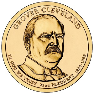2012-P Grover Cleveland Dollar 1st.Term Uncirculated