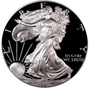 1997-P Silver American Eagle - Proof