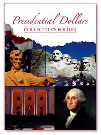 "Whitman's Presidential Dollar Collector's Folder Volume II 2012-2016 ""P"" & ""D"" Mints"