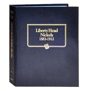Whitman Classic Liberty Nickel Coin Album 1883 to 1912