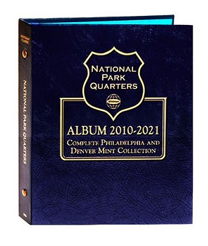 Whitman National Park Quarter P/D Mints Complete Set 2010-2021