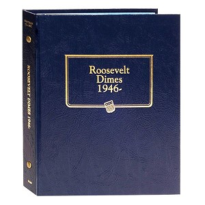 Whitman Classic Roosevelt Dime Coin Album 1946 to 2015