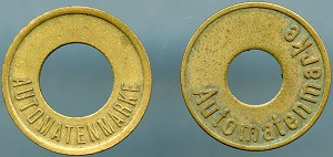 Two German Automatic Tokens