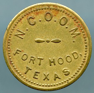 N.C.O.O.M. Fort Worth Texas 5c Good For Token