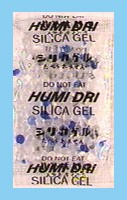 Silica Gel 5 Gram - Indicator Packet